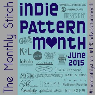 indie pattern month contest - my french twist