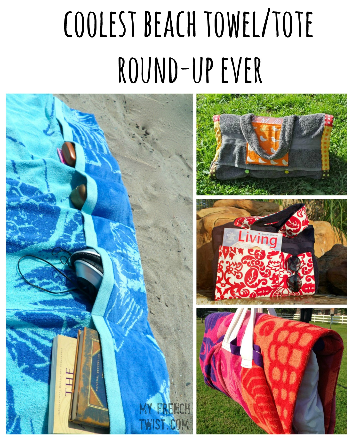 coolest beach towel/tote roundup ever - my french twist