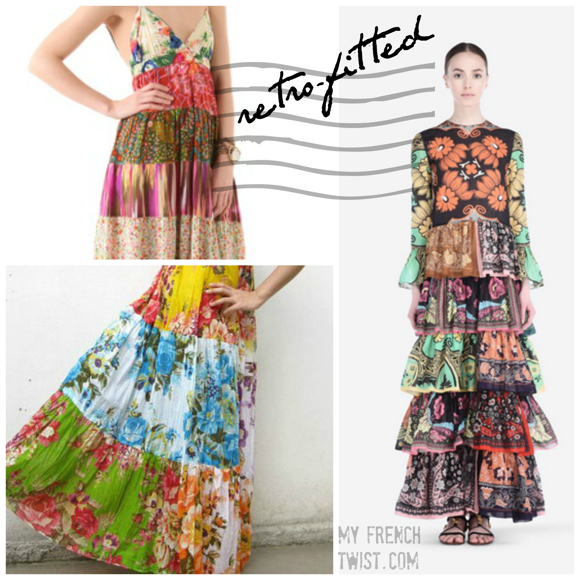 retrofitted granny gowns - my french twist