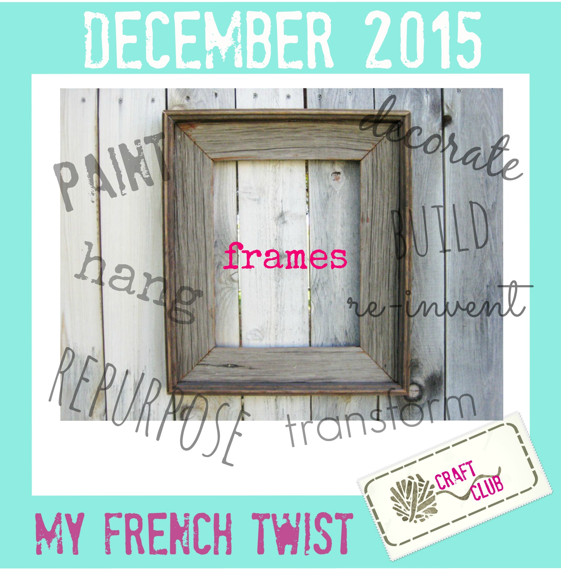 december 2015 craft challenge - myfrenchtwist.com