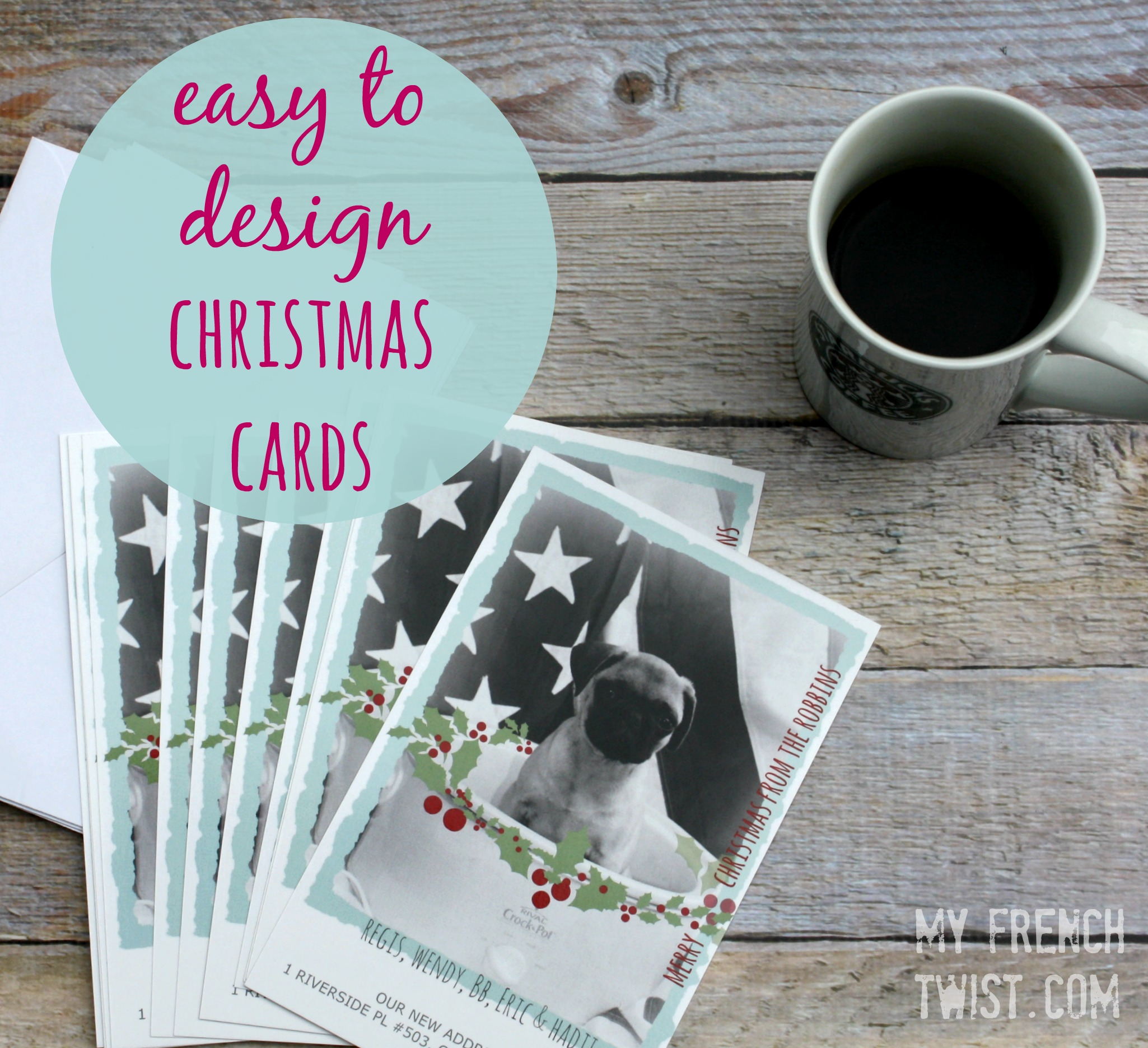 make your own holiday cards with vistaprint myfrenchtwistcom - Vistaprint Holiday Cards
