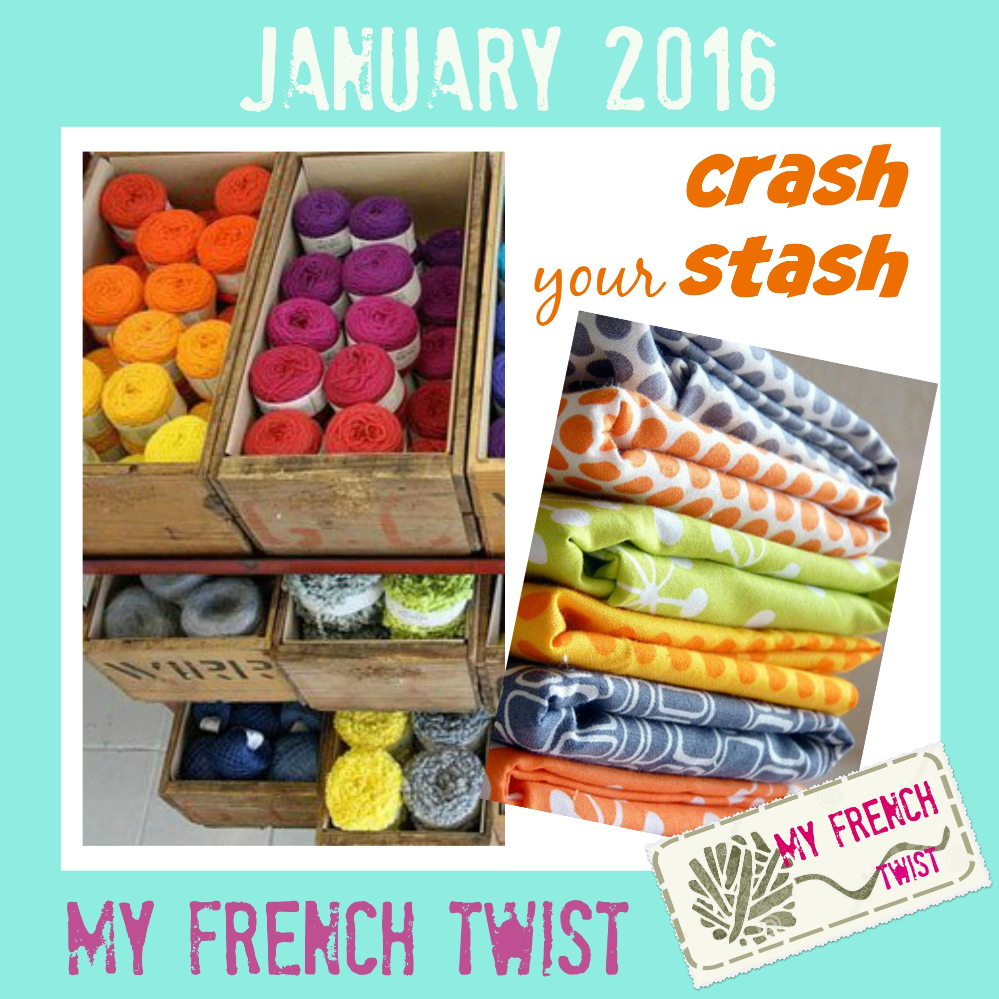 january 2016 craft challenge - myfrenchtwist.com