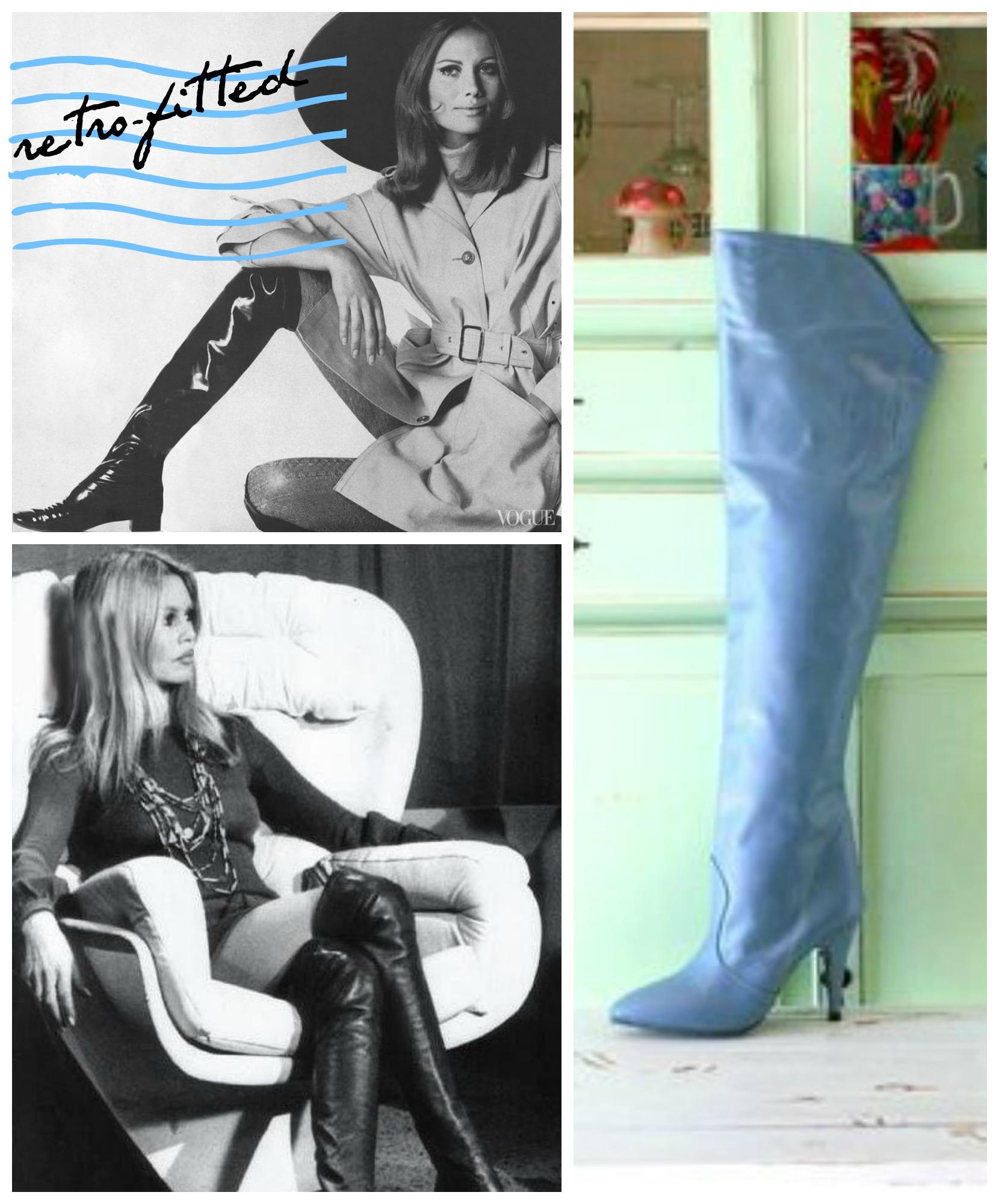 retrofitted boots - myfrenchtwist.com