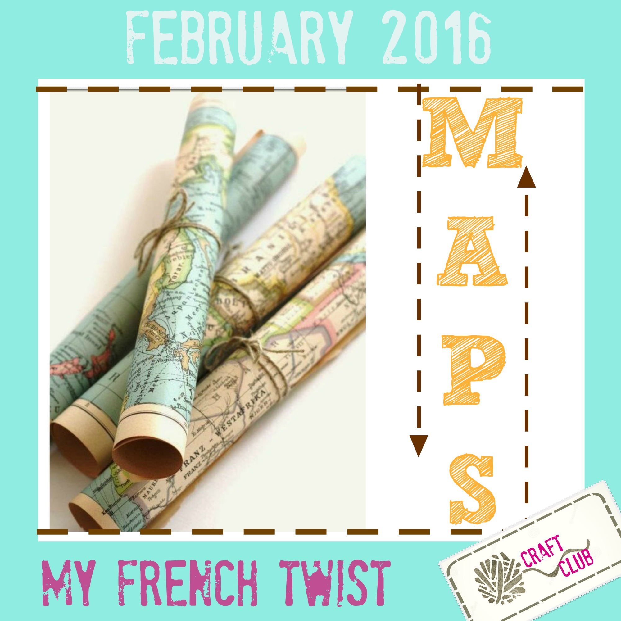 february 2016 craft challenge - myfrenchtwist.com