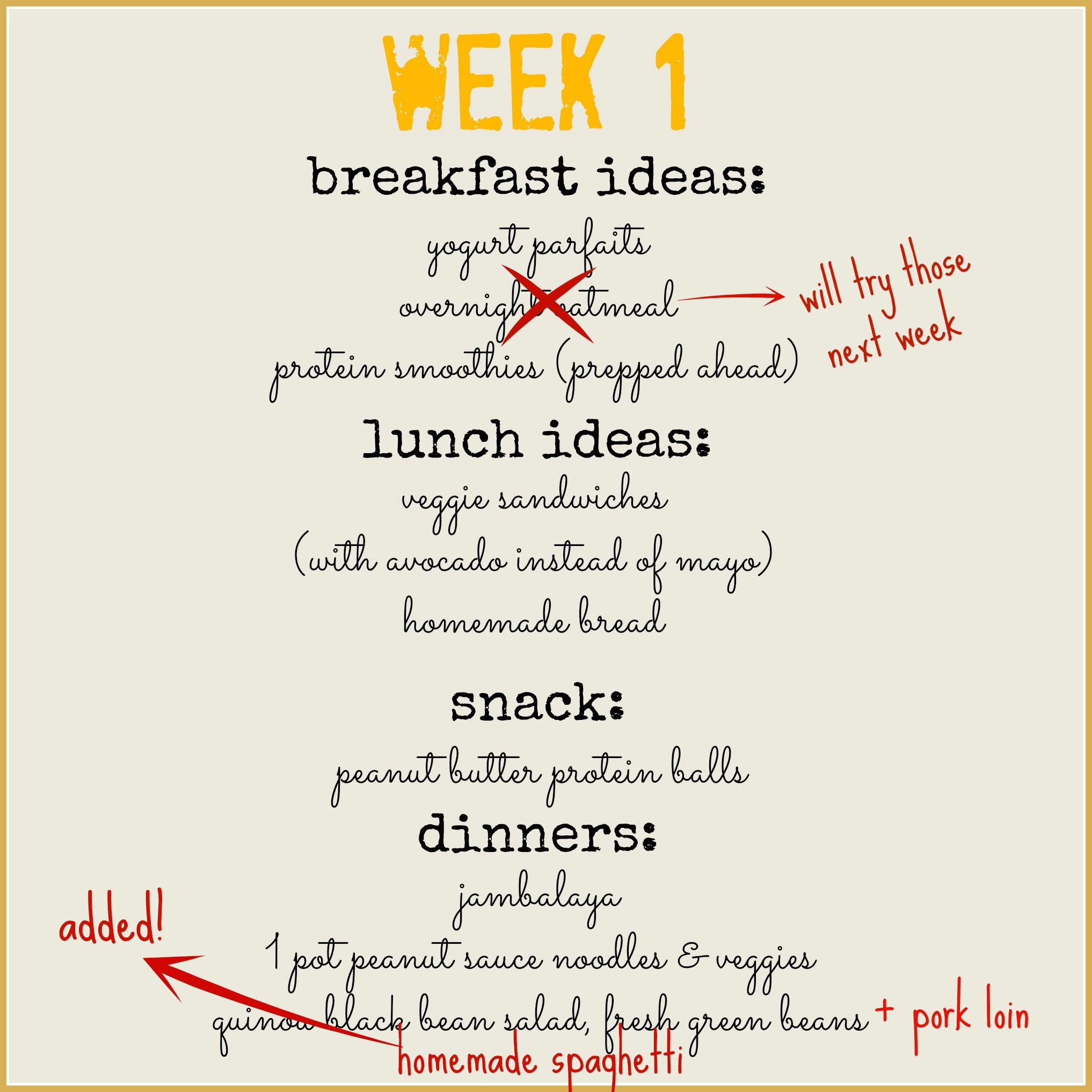 week 1 menu - myfrenchtwist.com