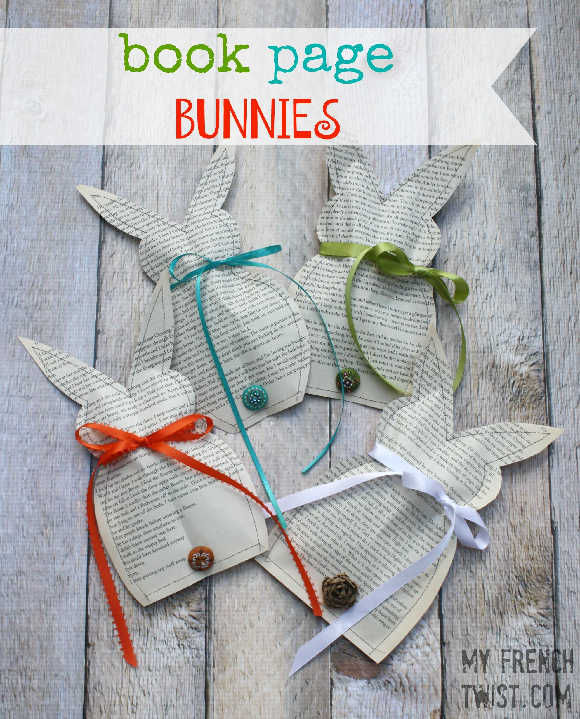 book club bunnies - myfrenchtwist.com