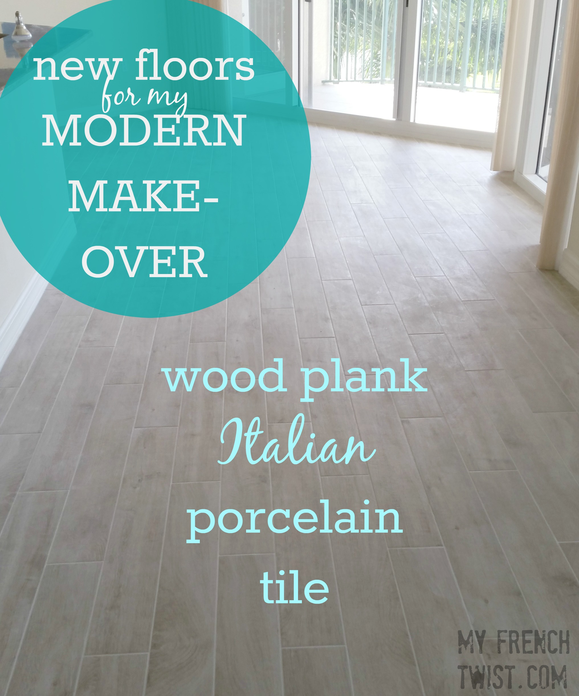 the make-over is about to begin... new floors - My French Twist