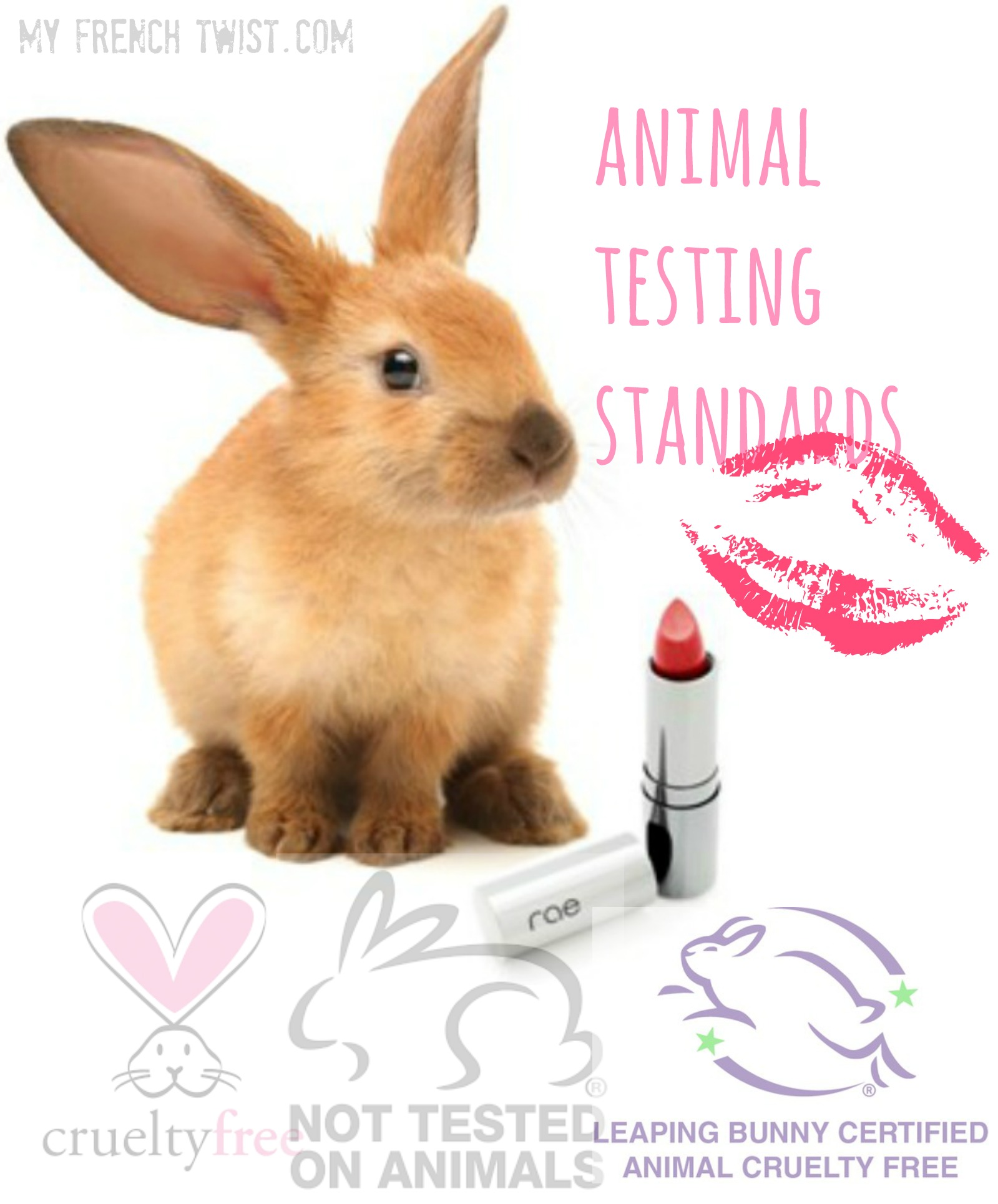 Green Beauty Animal Testing Standards My French Twist