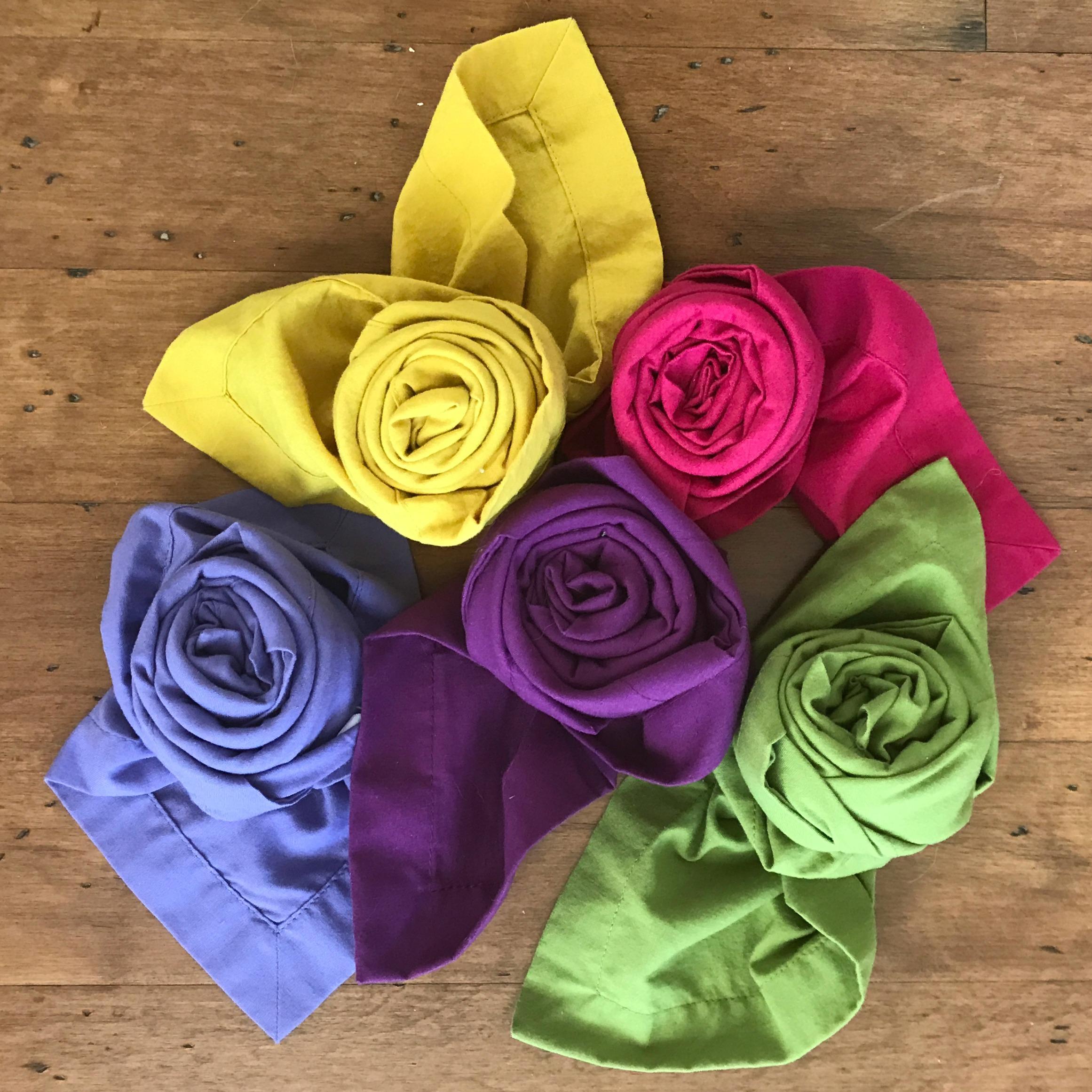 How To Fold A Rosebud Napkin My French Twist