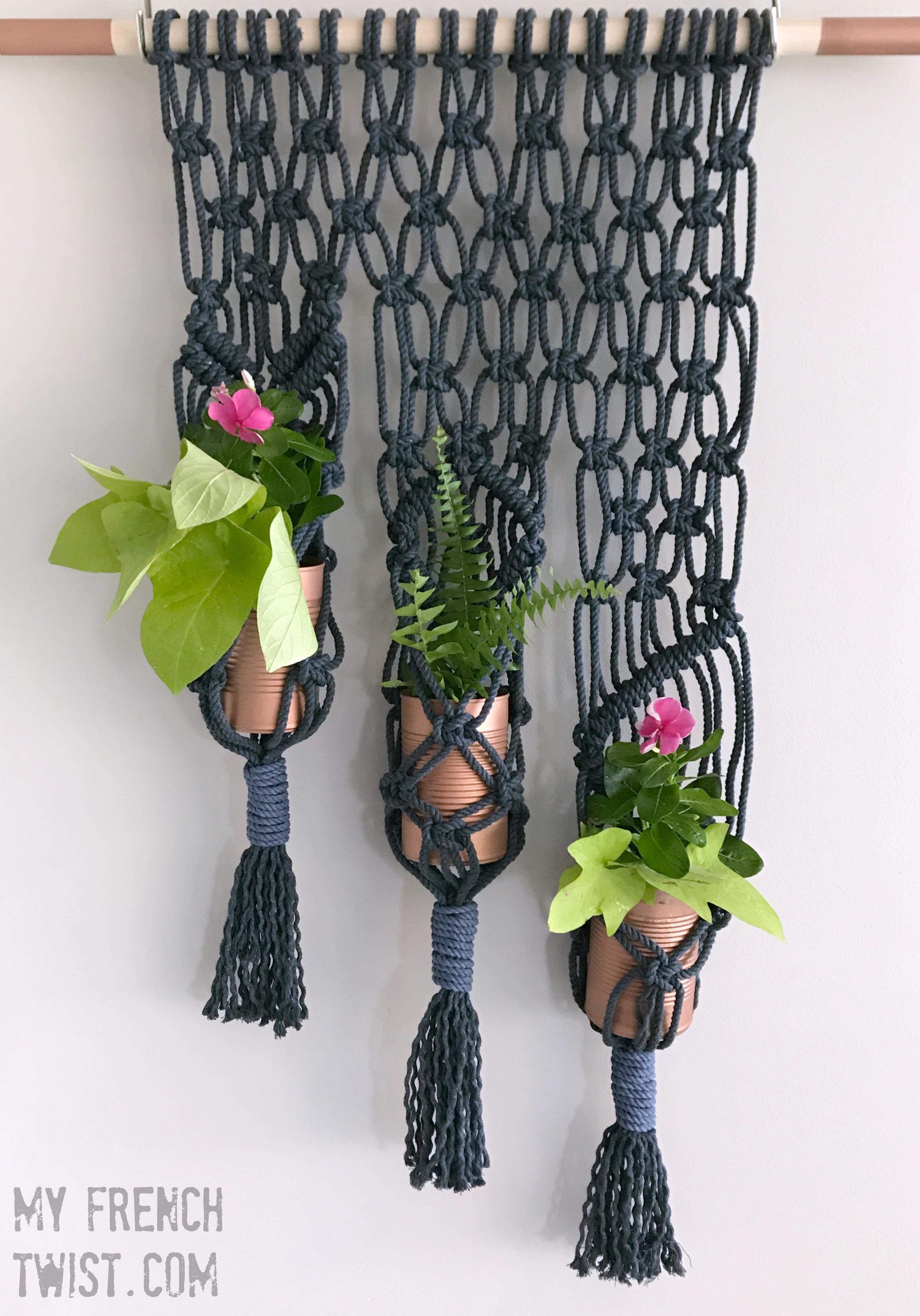 macrame planter - myfrenchtwist.com