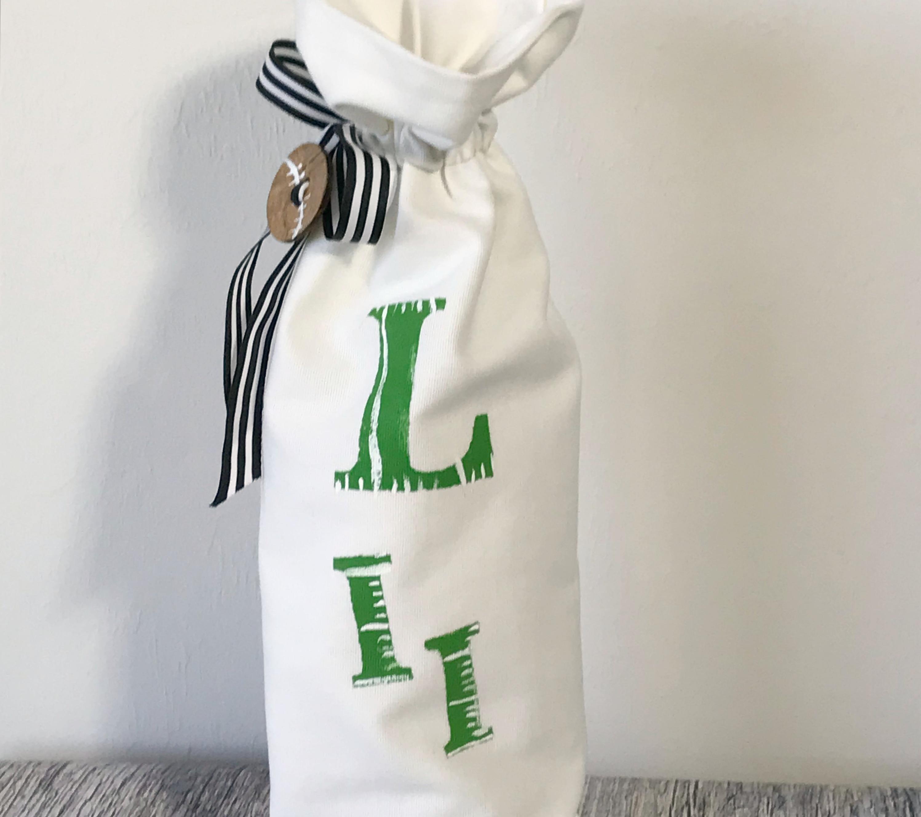 superbowl wine bag