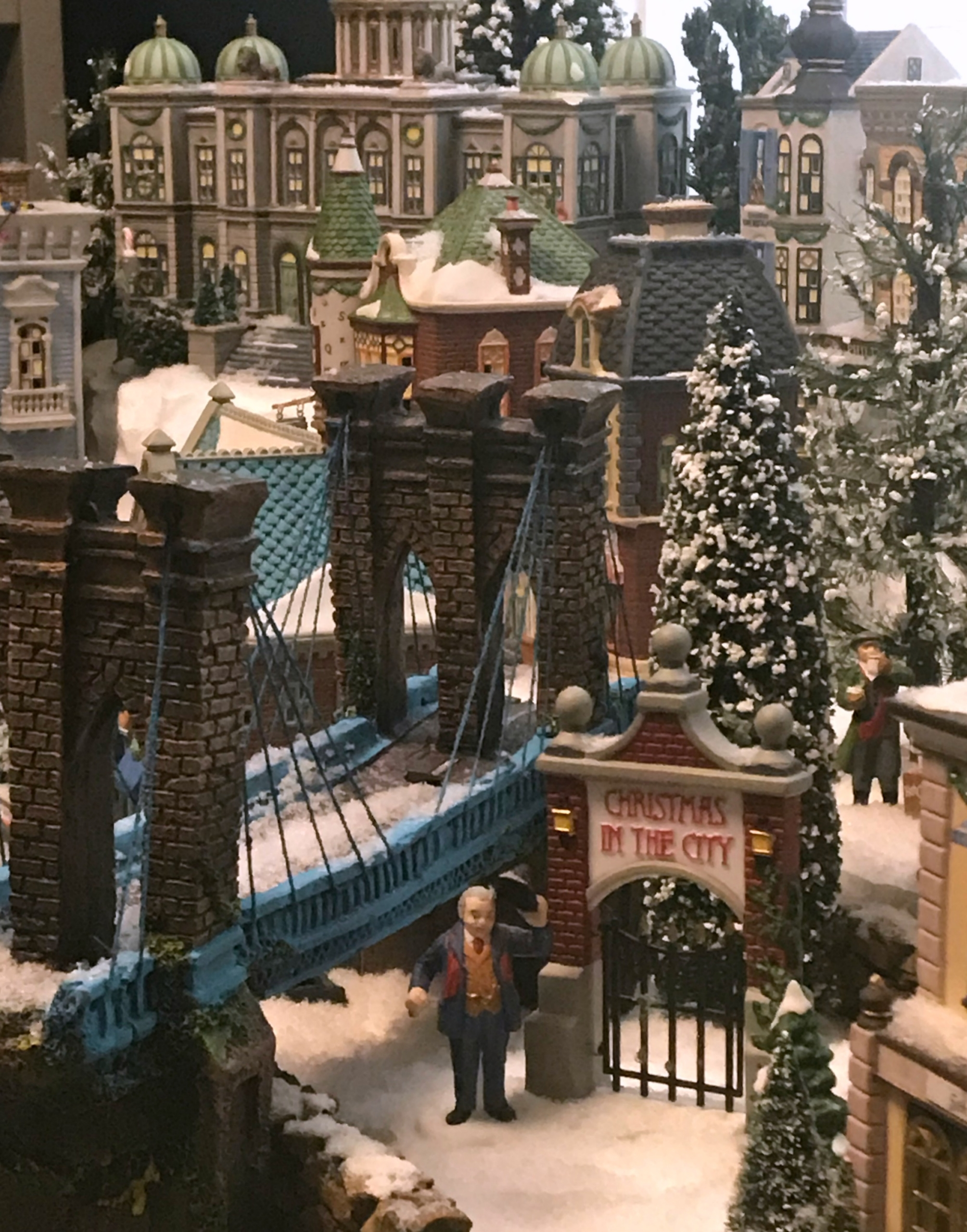 Building A Christmas Village Display My French Twist